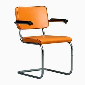 S64 PV Freischwinger Bauhaus Classic Stuhl von Marcel Breuer für Thonet