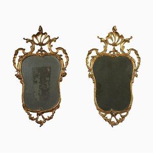 Lombard Barocchetto Mirrors, Italy, 18th Century, Set of 2