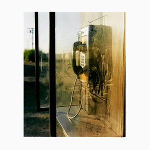 Call Box, Salton City, Kalifornien, Amerikanische Farbfotografie, 2003