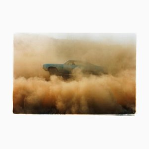 Buick in the Dust I, Hemsby, Norfolk, Farbfotografie eines Autos, 2000