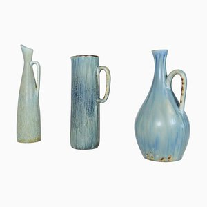Mid-Century Ceramic Pieces by Carl Harry Stålhane for Rörstrand, Sweden, Set of 3