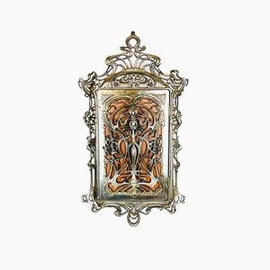 Art Nouveau Style Floral Key Box