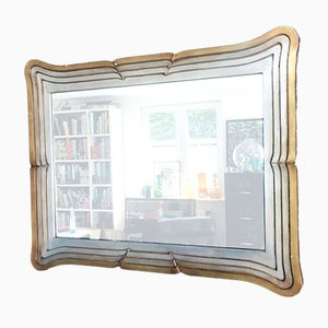Hollywood Regency Style Fold Out Mirror from Deknudt, Belgium, 1970s