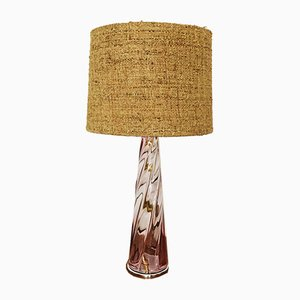 Large Murano Glass Table Lamp, 1960s