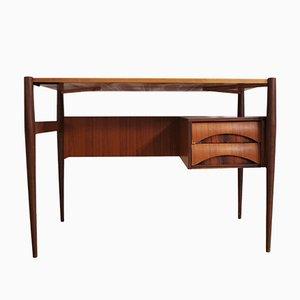 Teak Schreibtisch, 1970er