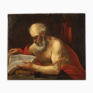 17th Century Italian Painting of Saint Jerome