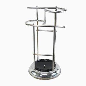 Art Deco Chrome Umbrella Stand