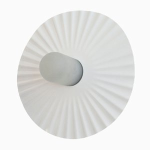 Plissee Wand- oder Deckenlampe von Achille Castiglioni für Flos