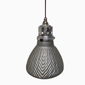 British Mercury Glass Pendant Lamp from Gecoray, 1930s