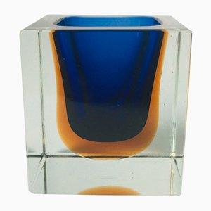 Sommerso Murano Glass Catch-All by Flavio Poli for Seguso, 1970s