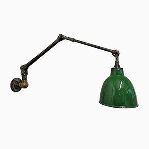 Lámpara de trabajo industrial de Revo, England, años 30