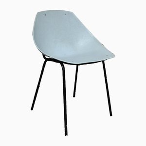 Gray Coquillage Chair by Pierre Guariche for Meurop, 1960s