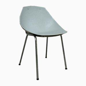 Grauer Coquillage Stuhl von Pierre Guariche für Meurop, 1960er