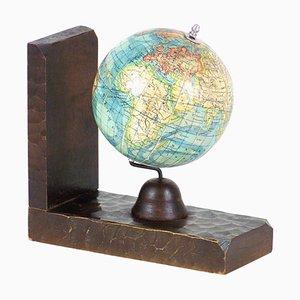 Bibliothek Bücherstütze mit dem Globus
