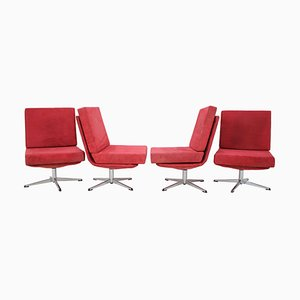 Swivel Chairs, 1970s, Set of 4