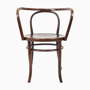 Thonet Mundus Wooden Armchair in Vienna Style, 1920s