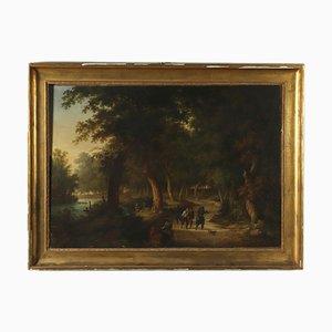 L'arresto, olio su tela, XIX secolo
