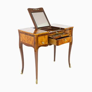 French Louis XV Hairdressing Table or Coiffeuse, Mid-18th Century