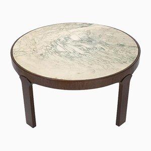 Couchtisch mit Marmorplatte