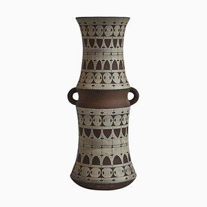 Large Scandinavian Ceramic Floor Vase by Ulla Winblad, Sweden, 1960s