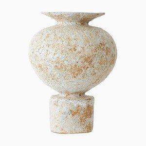 Áptera 4 Stoneware Vase by Raquel Vidal and Pedro Paz for Rima