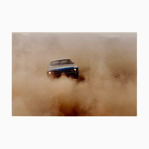 Buick in the Dust II, Hemsby, Norfolk, Color Photography of a Car, 2000