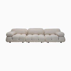 Camaliona Sofa Set aus Boucle Wolle von Mario Bellini für B&B Italia / C&B Italia, 8er Set
