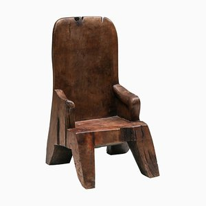Wooden Chair in the Style of José Zanine Caldas