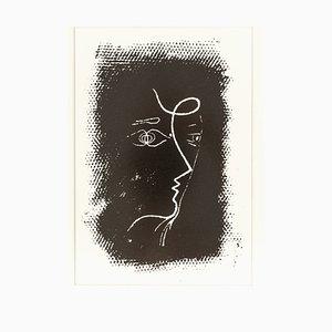 Georges Braque, Woman's Profile, Original Lithograph