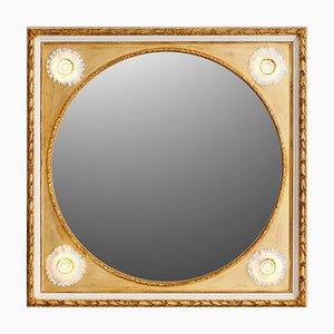 Sonnenblumen Porzellan Spiegel von Giulio Tucci