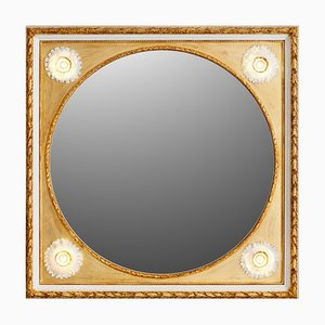 Sunflowers Porcelain Mirror by Giulio Tucci