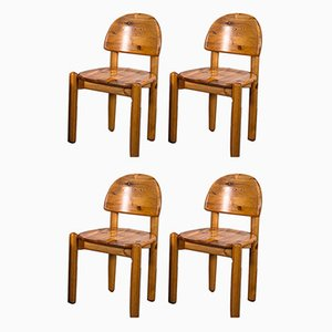 Side Chairs in the Style of Rainer Daumiller, 1970s, Set of 4