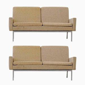 Sofás modelo 27 BC Mid-Century de 2 asientos de Florence Knoll Bassett para Knoll International. Juego de 2