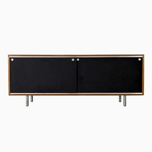 Mid-Century Walnut Sideboard by George Nelson for Herman Miller