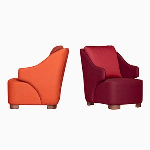 Vectis Armchairs by Pepe Albargues, Set of 2