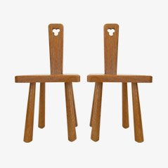 Oak Children's Chairs by Oisterwijk, Set of 2