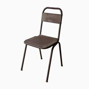 Industrieller Stuhl aus Metall