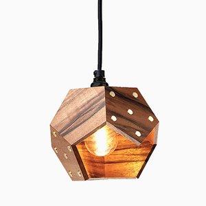 Lampada TWELVE Solo in noce di Plato Design