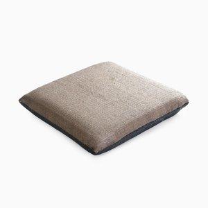 Coussin Paper/Nylon Cushion Gris et Gris Clair par Trine Ellitsgaard