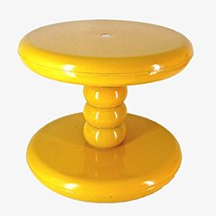 Yellow Senftenberger Ei Stool by Peter Ghyczy, 1968