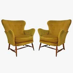 Vintage Armchairs from Ercol, 1950s, Set of 2