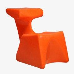 """Kinderstühle """"Zocker"""" entworfen von Luigi Colani, hergestellt von Top System Burkhard Lübke, 1971/72"""