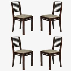 Art Deco Chairs, 1930s, Set of 4
