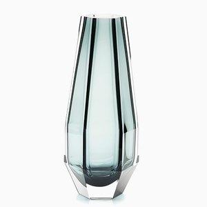 Schwarze Gemella Vase von Alessandro Mendini für Purho