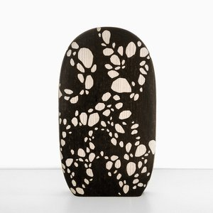 Burnt Chopping Board (Large), Pattern 2 by Alban Le Henry