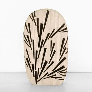 Burnt Chopping Board (Large), Pattern 4 by Alban Le Henry