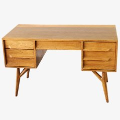 Oak Desk by Paul Laszlo for Brown Saltman