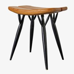 Pirkka Stool by Ilmari Tapiovaara for Asko, 1950s
