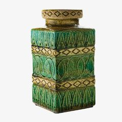 Deutsche Keramik Vase, 1970er