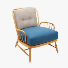 English Oak Armchair by Ercolani for Ercol